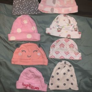 Other - 8 Assorted Newborn Hats